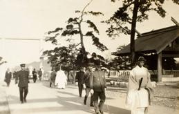 일본 황족 간인노미야(閑院宮) 참배(1929. 10)