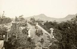 일본 황족 간인노미야(閑院宮)의 참배 행렬(1929. 10)